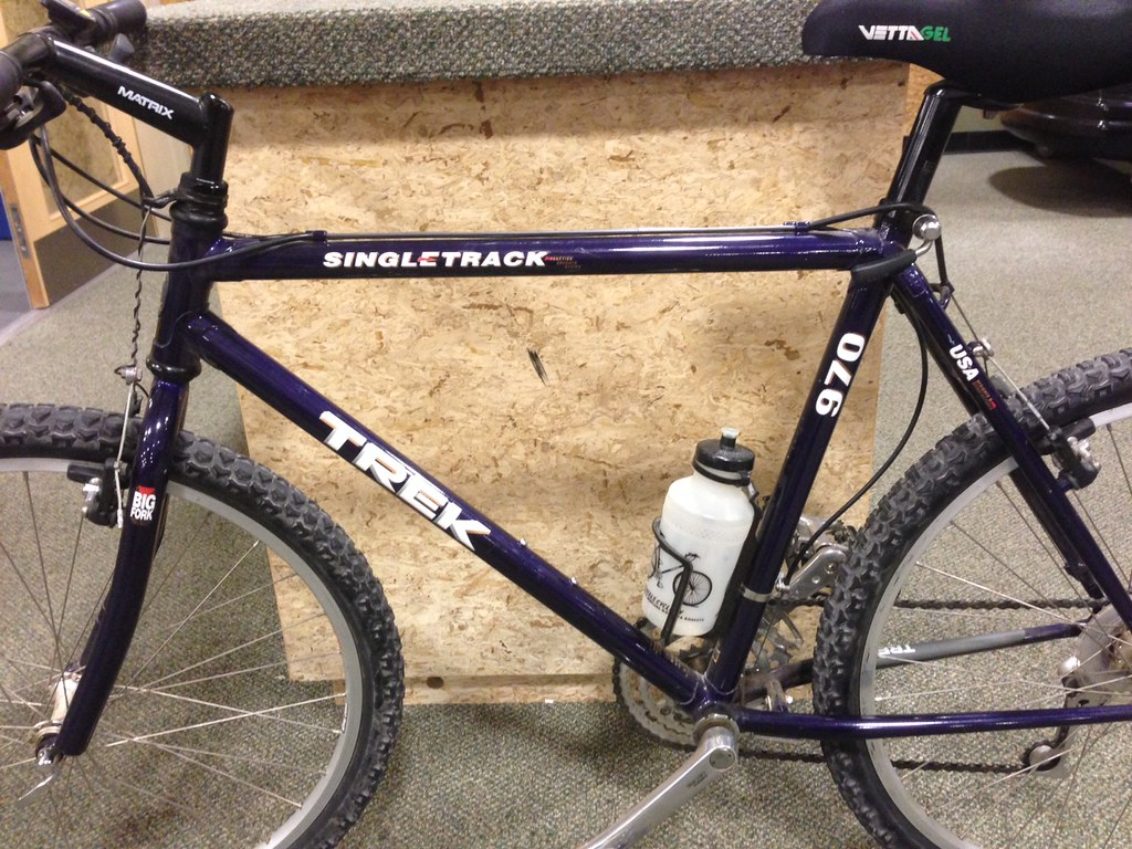 1992 Trek 970 In Sour Grape This Is My New Bike As It