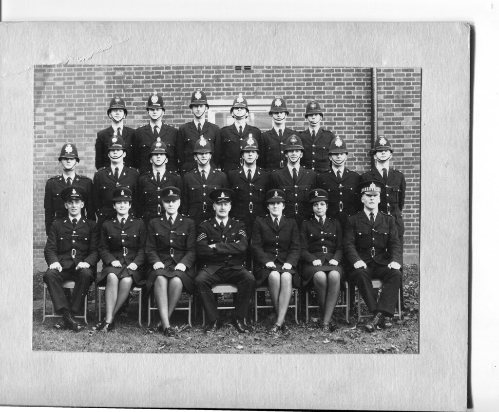 Class Of 1967 Dishforth Police Training Centre