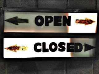 Open or Closed | by cogdogblog
