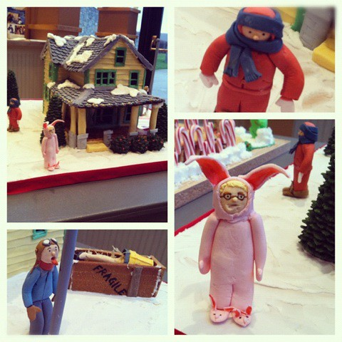 """Christmas Story"""" Gingerbread House 