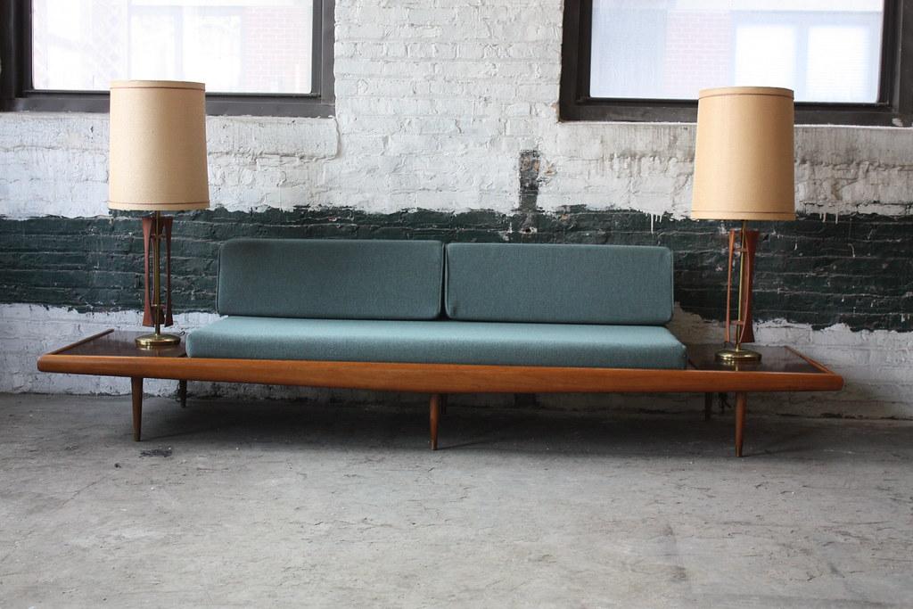 Amazing adrian pearsall mid century modern platform sofa for Amazing modern sofa design
