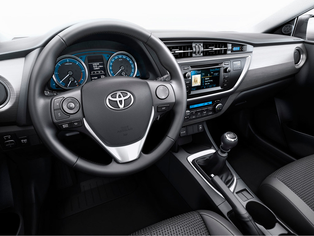 Toyota Auris 2013 Interior Toyota Motor Europe Flickr