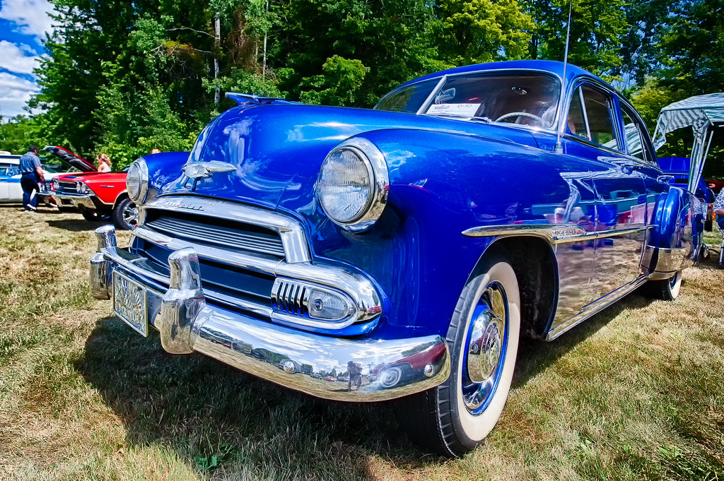 Chevrolet DeLuxe Deer Acres Car Show At Pinconni Flickr - Thomas chevrolet car show