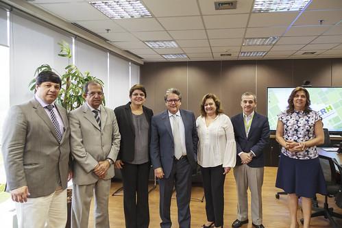 17/08/2016 Ebserh recebe visita da Reitora da Universidade Federal do Mato Grosso