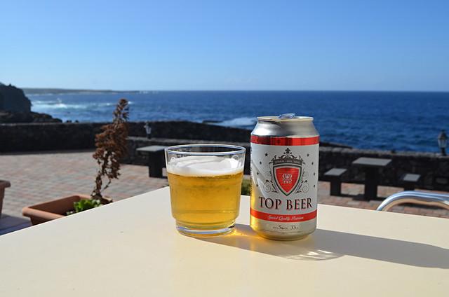 Top beer, Pozo de Salud, El Hierro