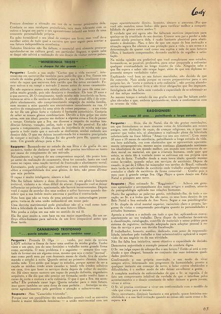 Lady, Nº 5, Fevereiro 1957 - 66