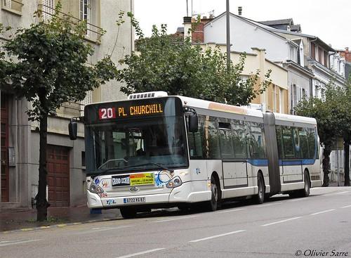 Limoges stcl bus articul ligne 20 flickr - Ligne bus limoges ...