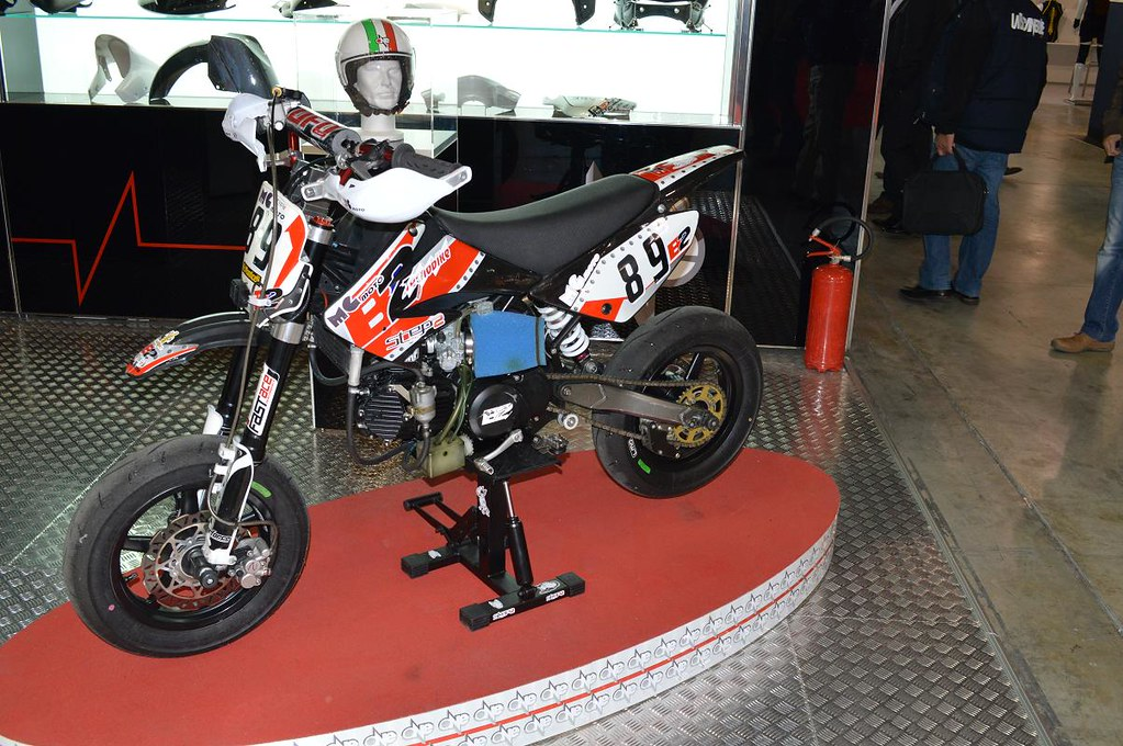 pit bike supermoto as seen at eicma 2012 milan italy. Black Bedroom Furniture Sets. Home Design Ideas