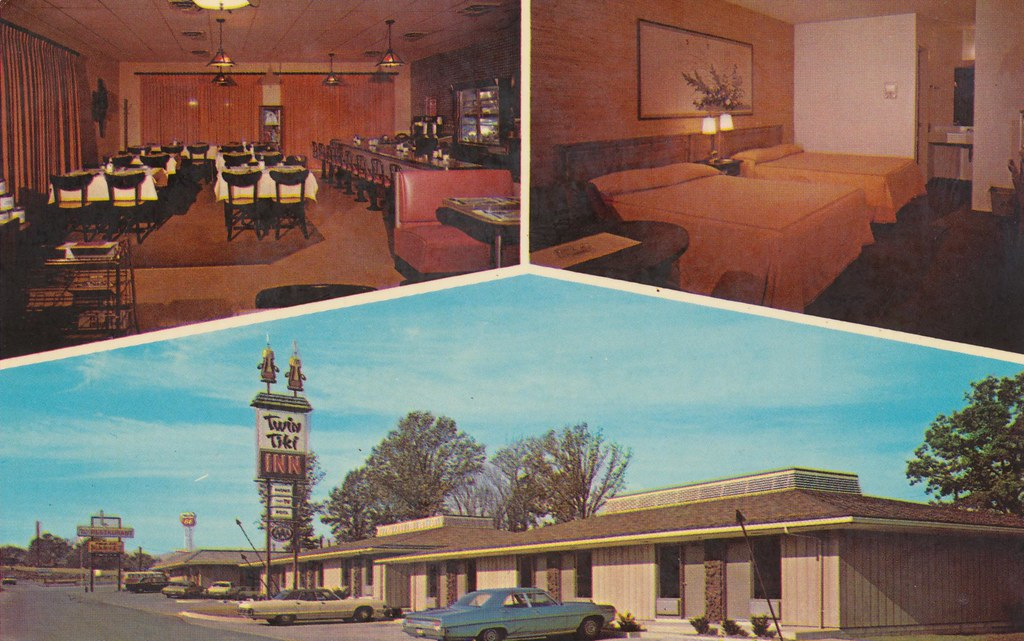 Twin Tiki Restaurant & Motel - Eddyville, Kentucky