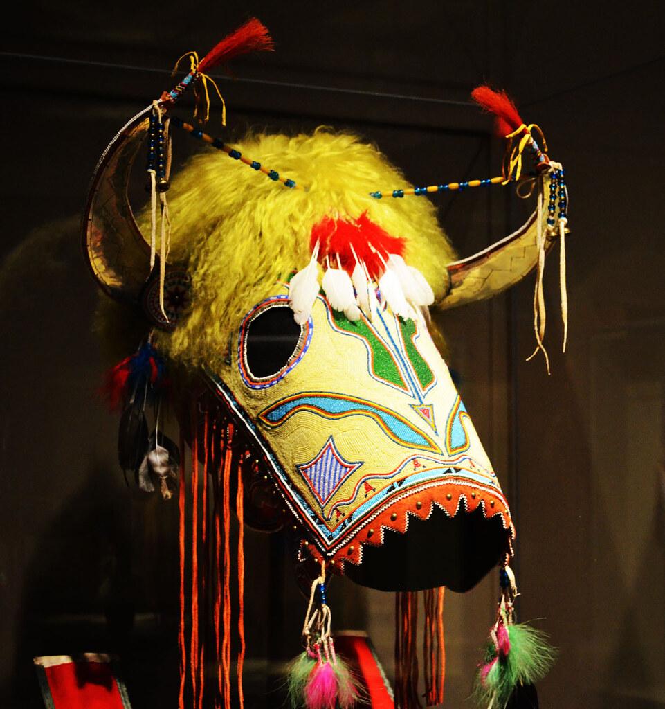 Kiowa horse mask 2010 - Smithsonian National Museum of the ...