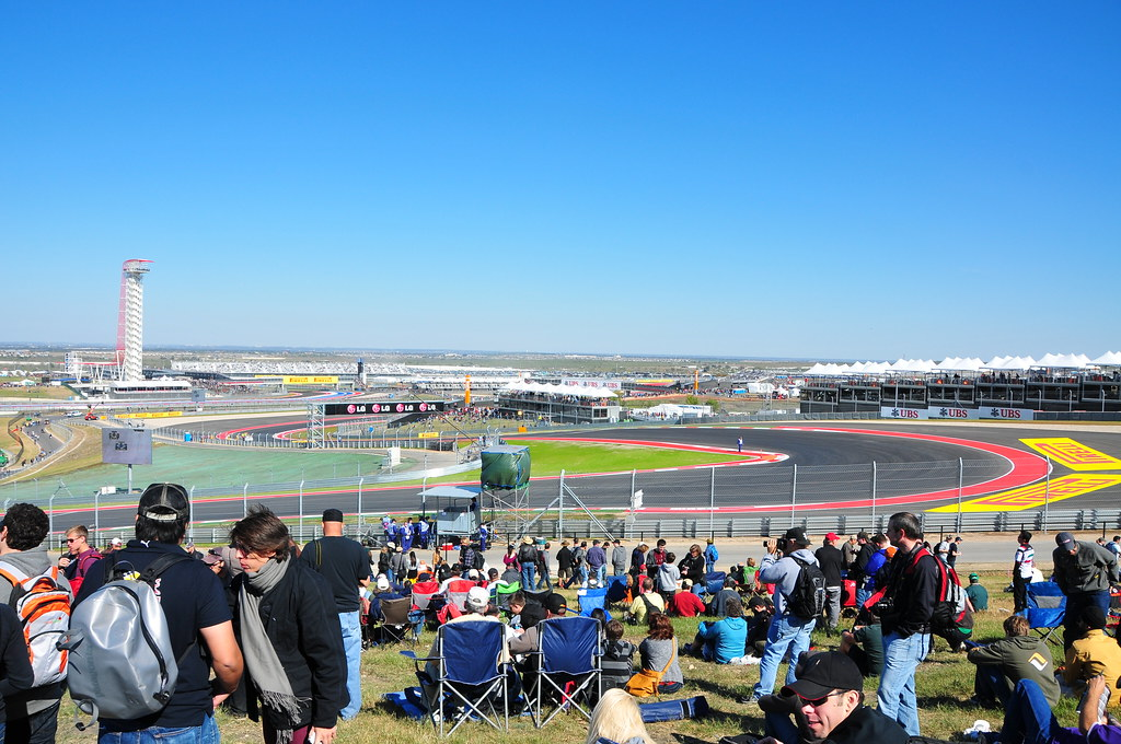 Circuit Of The Americas General Admission Turn 1 Us