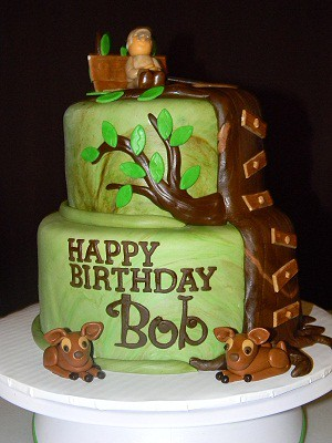 Hunter Themed Cakes