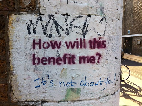 """How will this benefit me?"" 