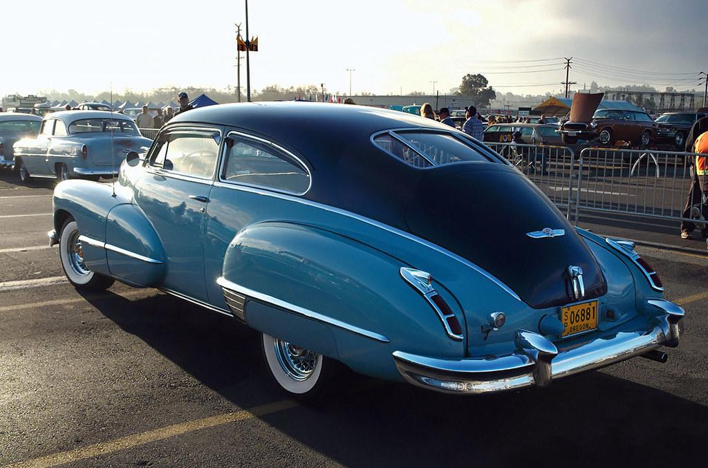 1947 Cadillac Series 62 Club Coupe Blue Rvl 1947