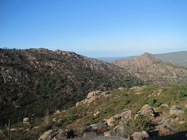 Monte Pindo desde O Fieiro