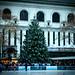Christmas tree at Byrant Park