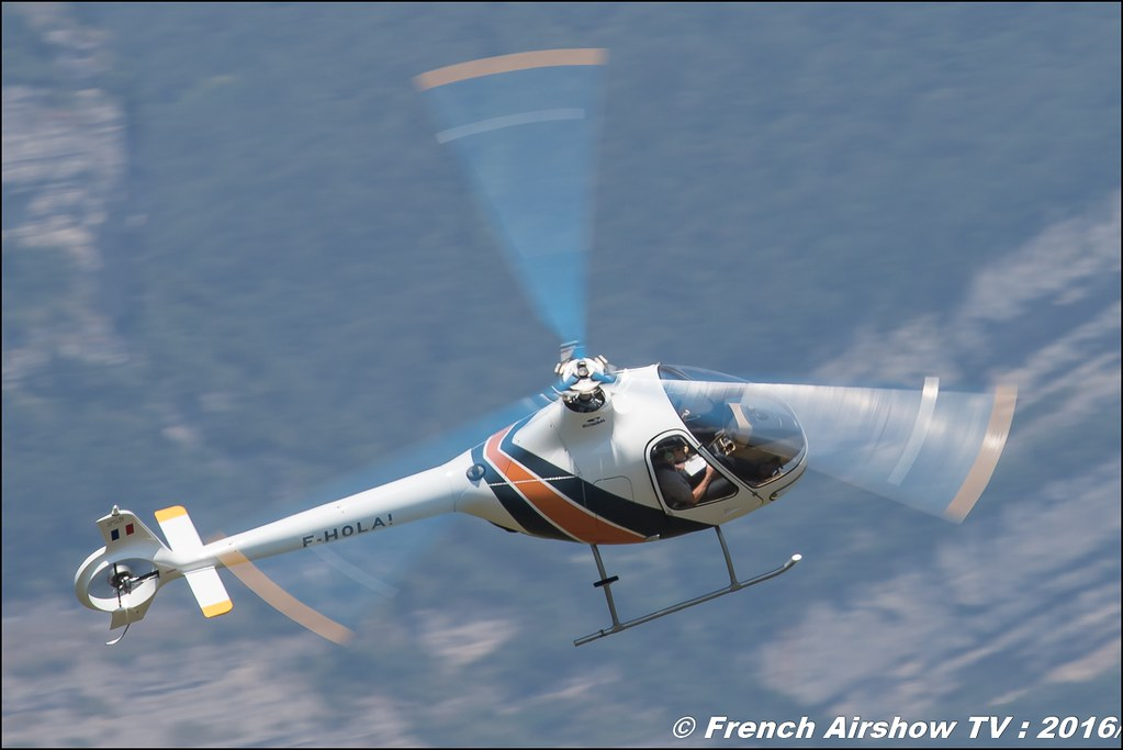 cabri G2 , guimbal , F-HOLA, Hélicoptères Guimbal , Grenoble Air show 2016 , Aerodrome du versoud , Aeroclub du dauphine, grenoble airshow 2016, Rhone Alpes