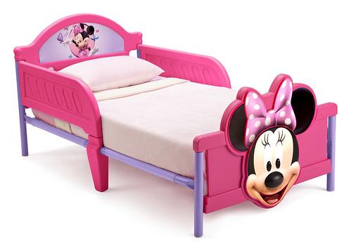 Delta Minnie Mouse 3D Bed Cama Niña De Plástico 1