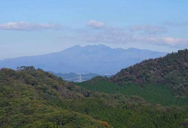 古賀志山から眺める高原山