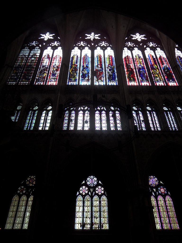 Vitraux Metz metz - vitraux de jean et pierre gaudin | cathédrale saint-É… | flickr