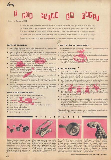 Lady, Nº 5, Fevereiro 1957 - 63