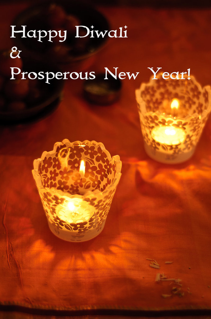 Happy New Year And Happy Diwali Images 14