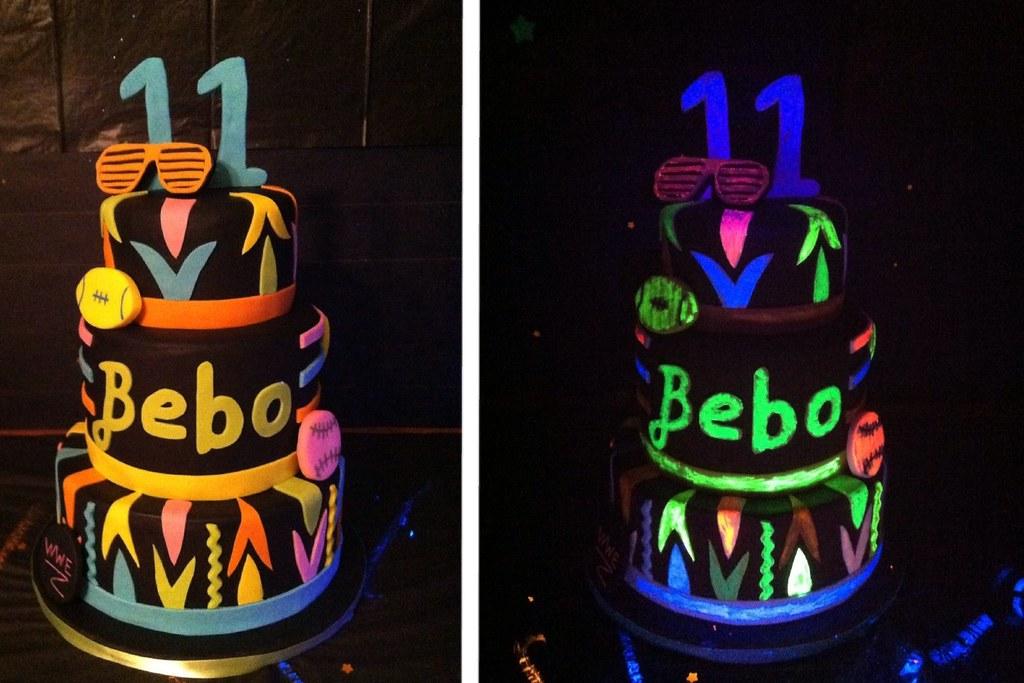 Glow In The Dark Cake Yihasz82 Flickr