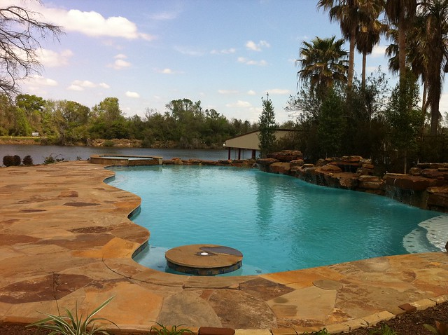backyard amenities infinity pool cocktail pool flickr photo