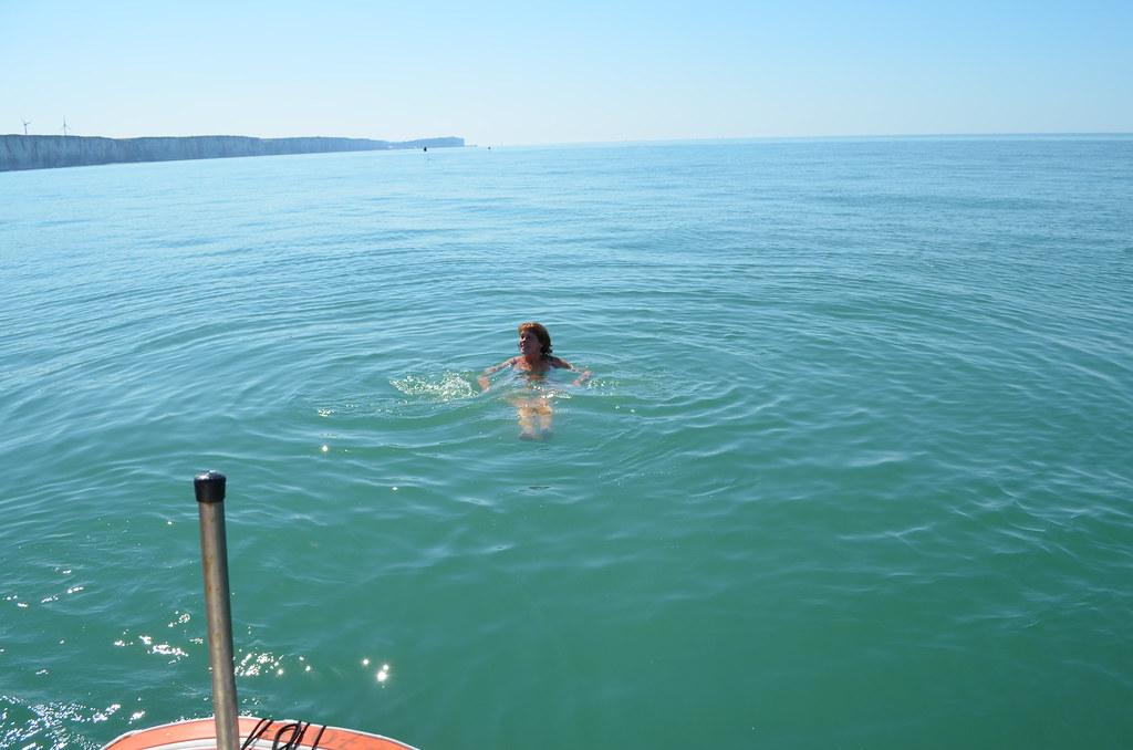 La manche l 39 t baignades en bateau chambres d 39 h tes - Chambre d hote normandie vue sur mer ...