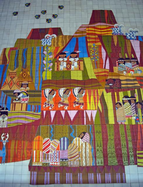 Monorail mural at disney 39 s contemporary resort flickr for Contemporary resort mural