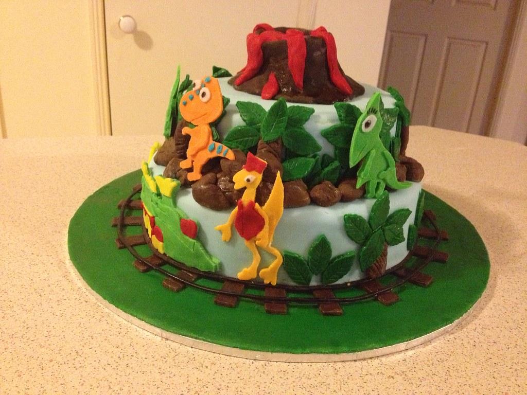 Dinosaur Train Themed Birthday Cake Dinosaur Train