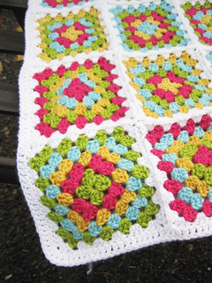 Granny Square Afghan Border | by twiddletails