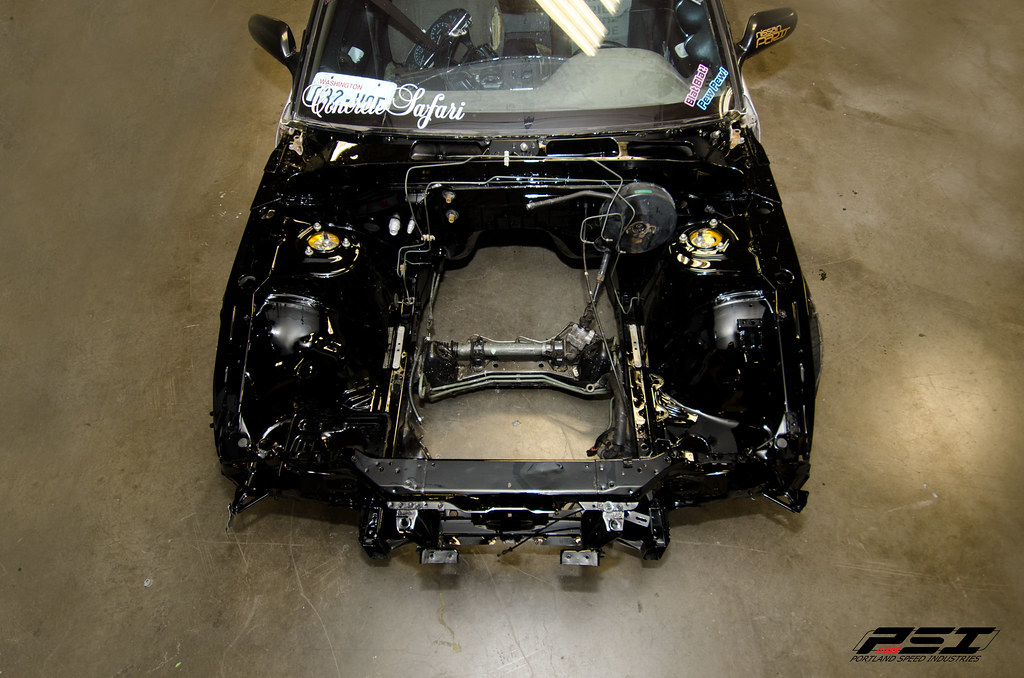 painted 240sx engine bay kyle tomita flickr