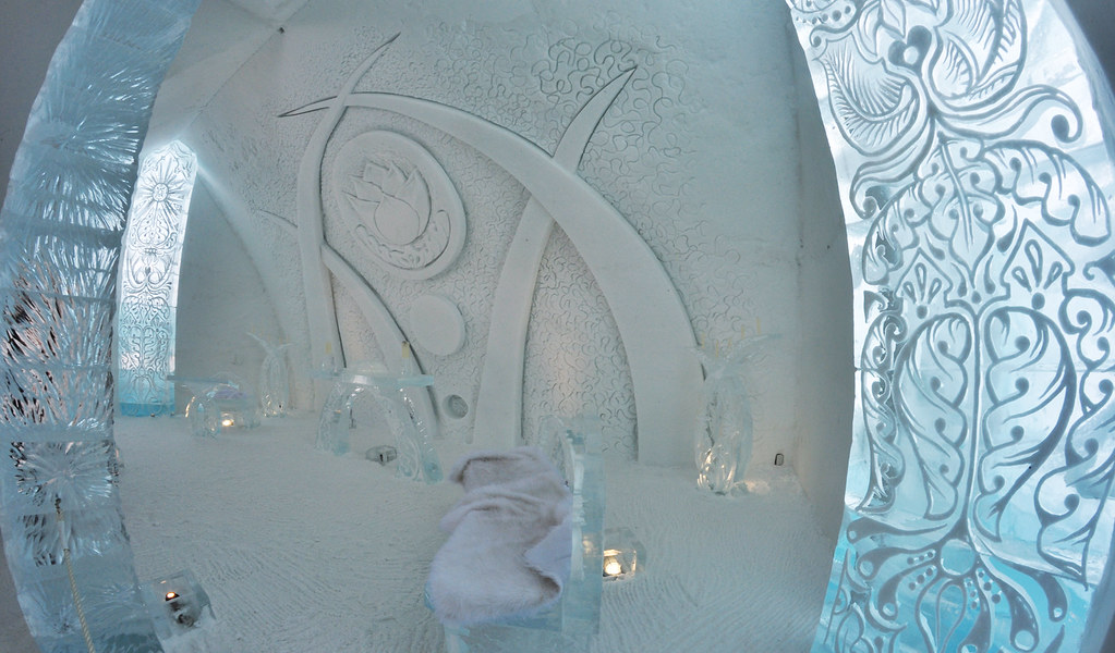 Hotel De Glace A Quebec