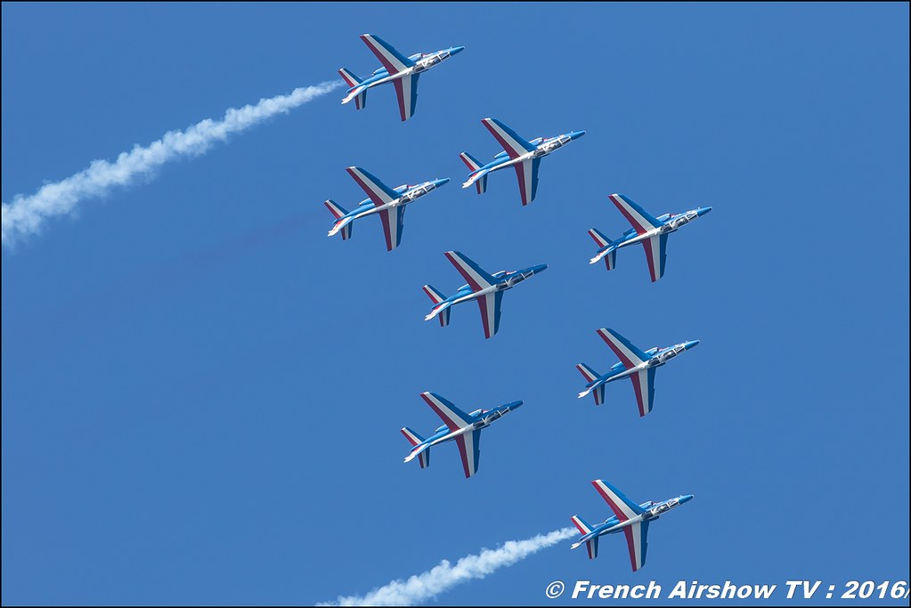 Patrouille de France ,Toulon Airshow 2016 , Meeting Aerien toulon 2016 , lens Canon