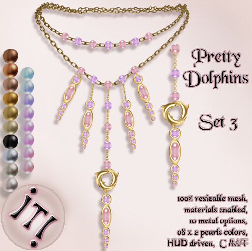 !IT! - Pretty Dolphins Set 3 Image
