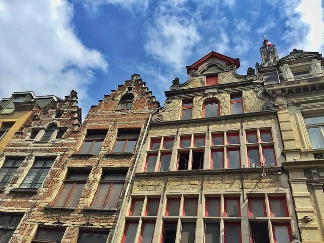 Fachadas de Gante (Flandes, Bélgica)