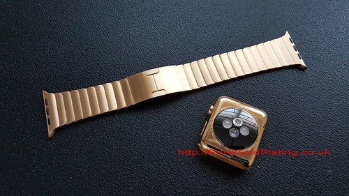 Gold Plated Apple Watch Parts | by PureGoldPlating