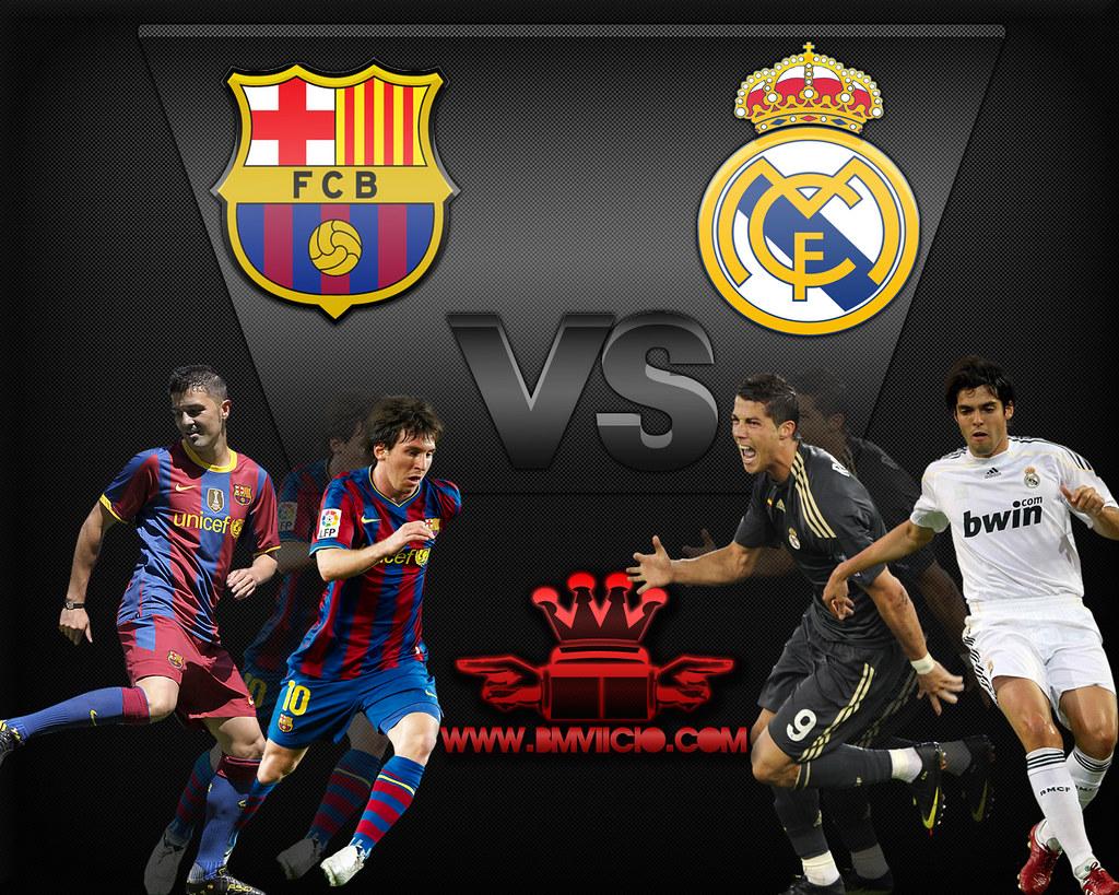 Барселона реал мадрид обои