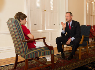 Governor is Interviewed by Gus Prager | by MDGovpics