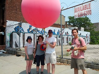 5_2012 7 July_Suspected Marylander site Over My Dead Body Balloon Mapping Team_pic by Sara Dabbs | by Proteus Gowanus