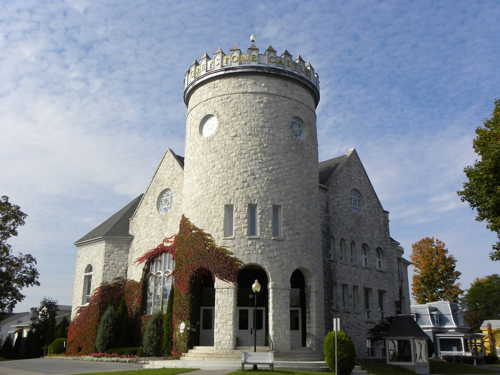 Greystone Castle Canastota Ny Former Church The