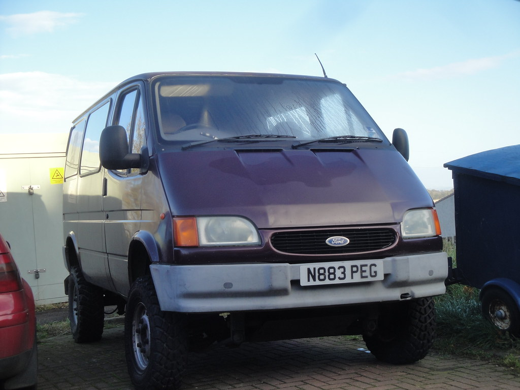 1995 ford transit 150 swb not sure if this is a county 4x4 flickr. Black Bedroom Furniture Sets. Home Design Ideas