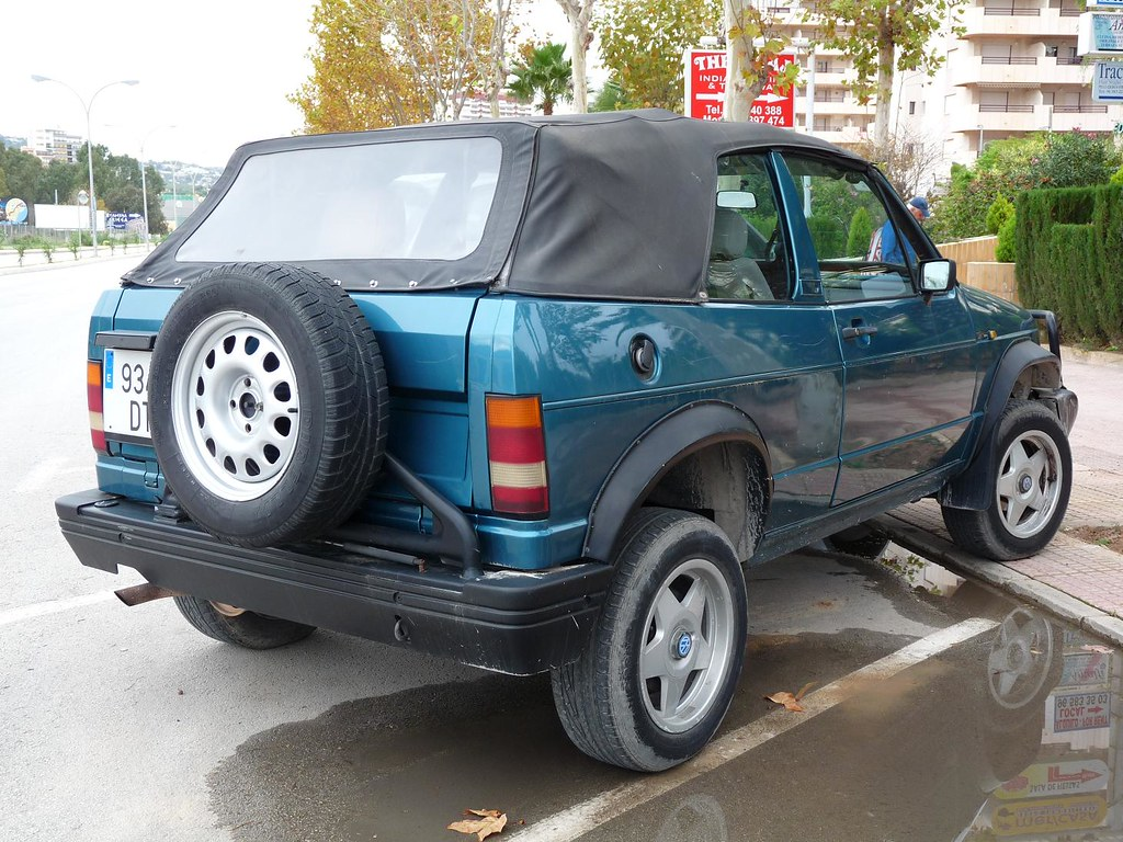 Biagini Passo Vw Volkswagen Golf Country Cabriolet 4x4