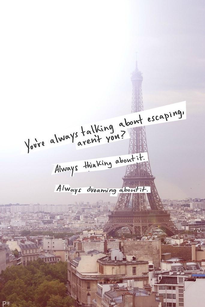 France Eiffel Tower Tumblr
