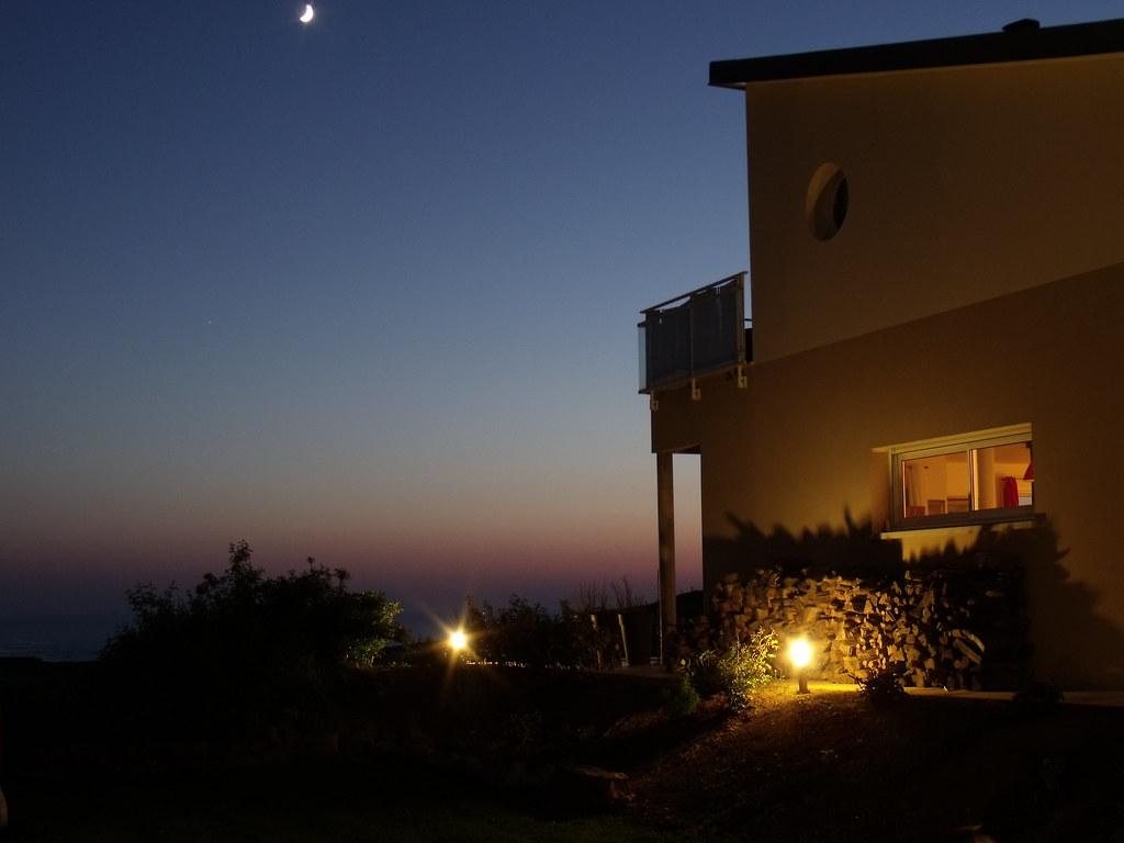 Fen tres sur mer la nuit c 39 est magique chambres d - Chambre d hote normandie vue sur mer ...