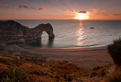 Durdle Door - Autumn Sunset | by JamboEastbourne