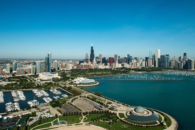 Skyline Mobile Homes >> Chicago Skyline, Museum Campus, Grant Park | Flickr ...