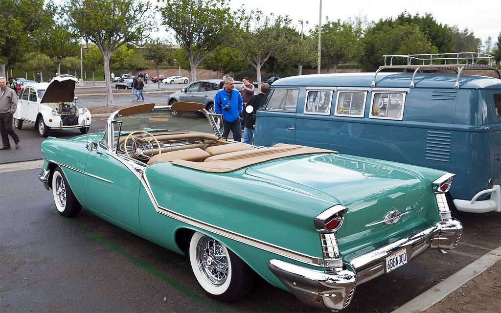1957 Oldsmobile Super 88 Convertible - Allegheny Green - r…   Flickr