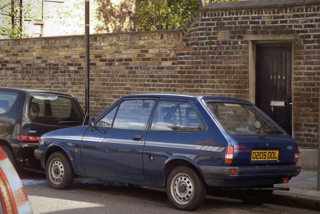 1987 ford fiesta 950 popular plus a birmingham. Black Bedroom Furniture Sets. Home Design Ideas